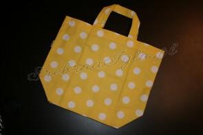 Torba na zakupy - żółte dropsy